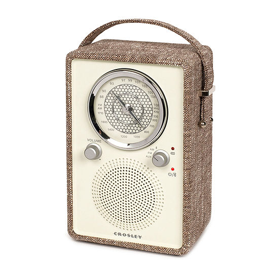Crosley Mockingbird AM/FM Radio with Built-in Bluetooth