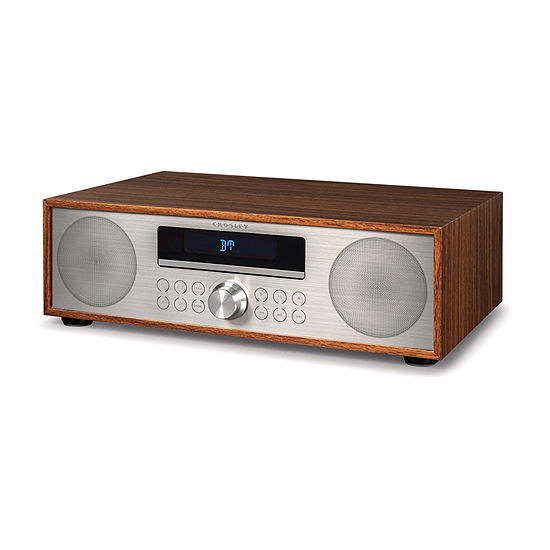 Crosley Fleetwood CD Player with FM Radio and Built-in Bluetooth