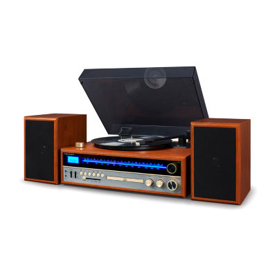 Crosley 1975T Entertainment System with Turntable, CD, Bluetooth and AM/FM Radio