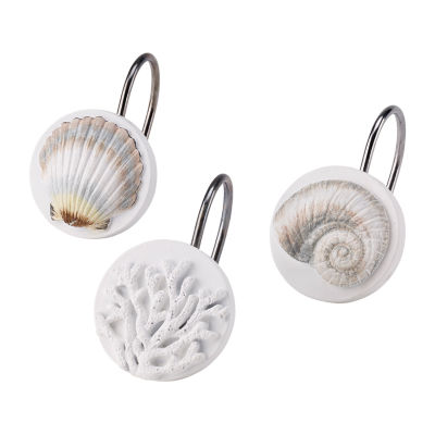 Avanti Destin Shower Curtain Hooks