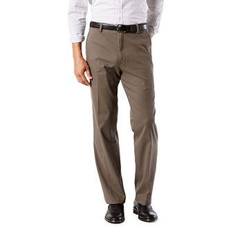 Dockers Men/'s Easy Khaki Classic Fit Pleated Pants