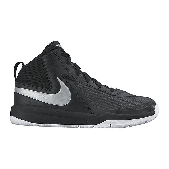 check out 3aa90 990ec Nike Team Hustle D 7 Basket Ball Athletic Shoes