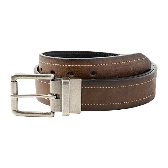 Arizona Reversible Double-Stitch Casual Men's Belt