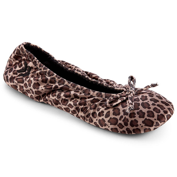 Satin Ballerina Slippers