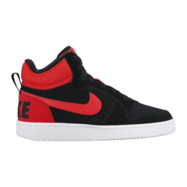 Nike® Court Borough Boys' Mid-Top Sneakers - Big Kids