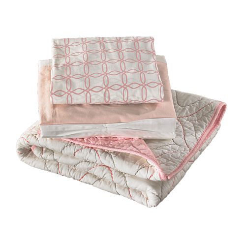 3-pc. Crib Bedding Set
