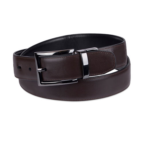 Dockers 32Mm Black/Brown Reversible Solid Belt