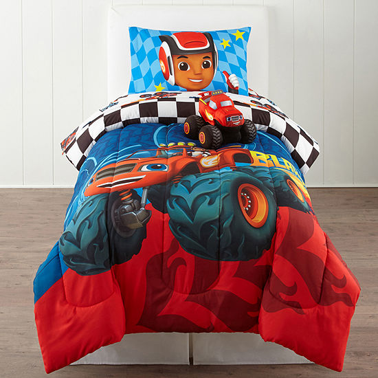 Nickelodeon Blaze Fast Track Twin Comforter Accessories