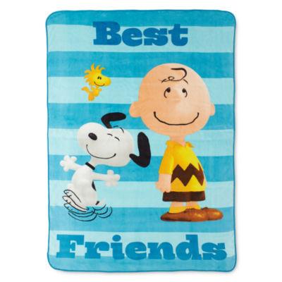 Peanuts Sunny Day Fleece Blanket