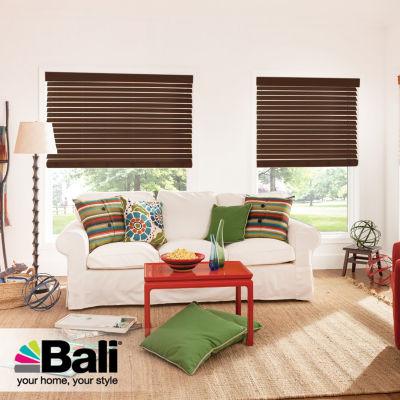 "Bali® Custom 2"" Premium Faux Wood Blinds"