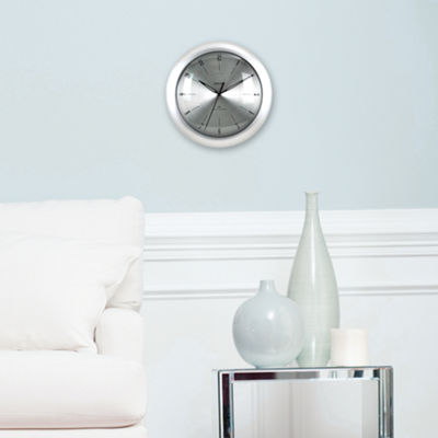 FirsTime® Plasma Steel Wall Clock