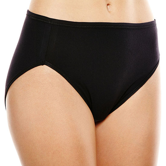 Vanity Fair® Illumination® Cotton-Blend Hi-Cut Panties - 13315