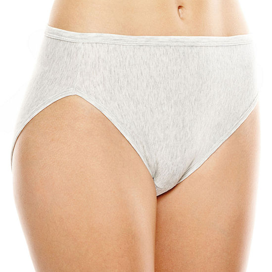 Vanity Fair® Illumination® Cotton-Blend Hi-Cut Panties - 13315