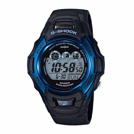 Casio G-Shock Mens Digital Black Strap Watch-Gwm500f-2