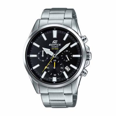 Casio Edifice Mens Silver Tone Bracelet Watch-Efv510d-1av