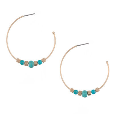 a.n.a Freeform Hoop Earrings