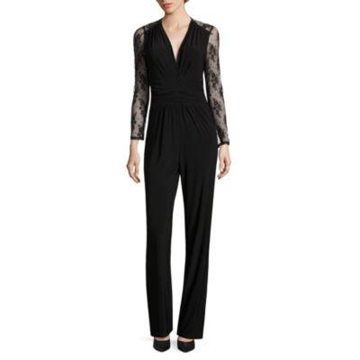 Scarlett Long Sleeve Jumpsuit-Tall