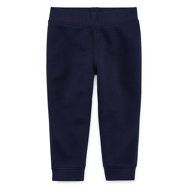 Okie Dokie Fleece Pull-On Pants - Baby Boy NB-24M