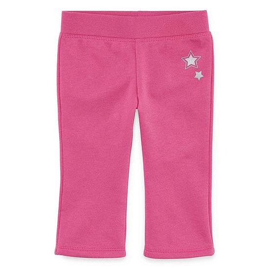 Okie Dokie Baby Girls Pull-On Pants