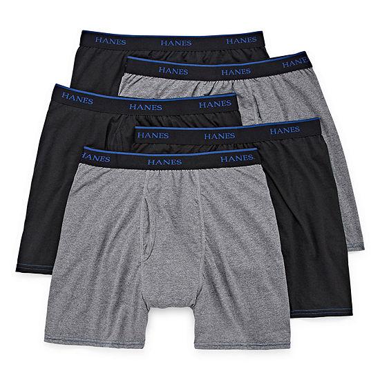 Hanes® 4-pk.+ Bonus Pair Comfort Blend® Boxer Briefs
