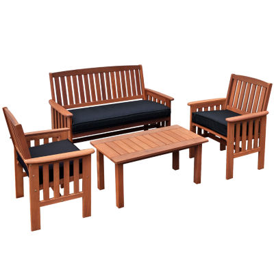 Miramar 4-Pc. Chair and Coffee Table Set