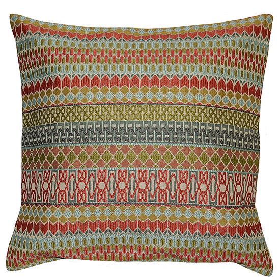 Argyle Square Throw Pillow