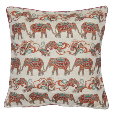 Indira Parade Square Throw Pillow