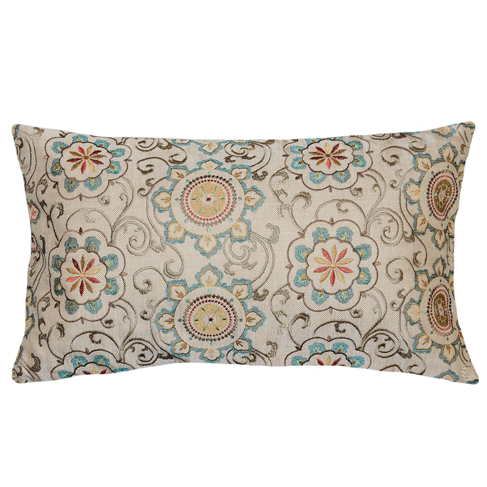 Zulili Rectangular Throw Pillow