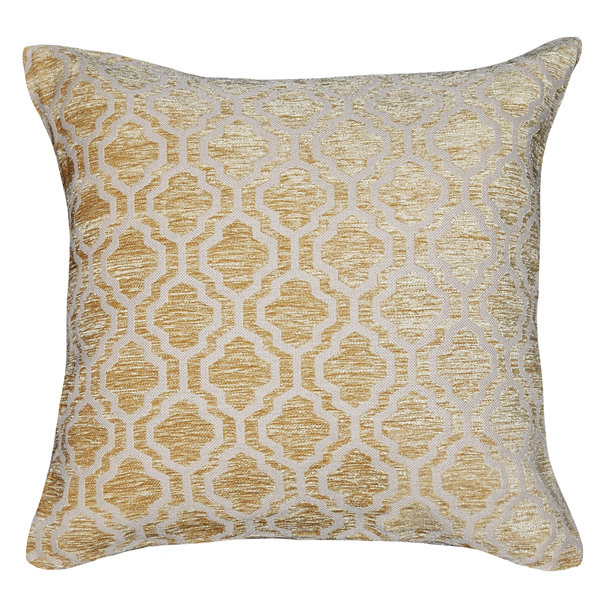Brandy Square Throw Pillow