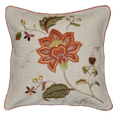 Lucretia Square Throw Pillow