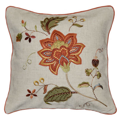 Lucretia Square Throw Pillow