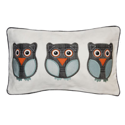 Coo Coo Owls Rectangular Throw Pillow