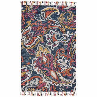 Room Envy Calendra Koi Hand Tufted Rectangular Indoor Accent Rug