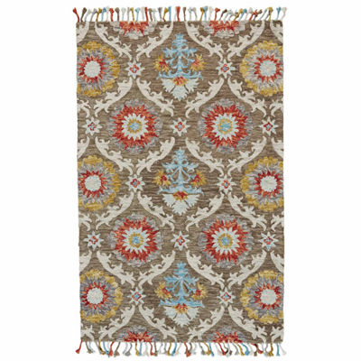 Room Envy Calendra Incas Hand Tufted Rectangular Rugs