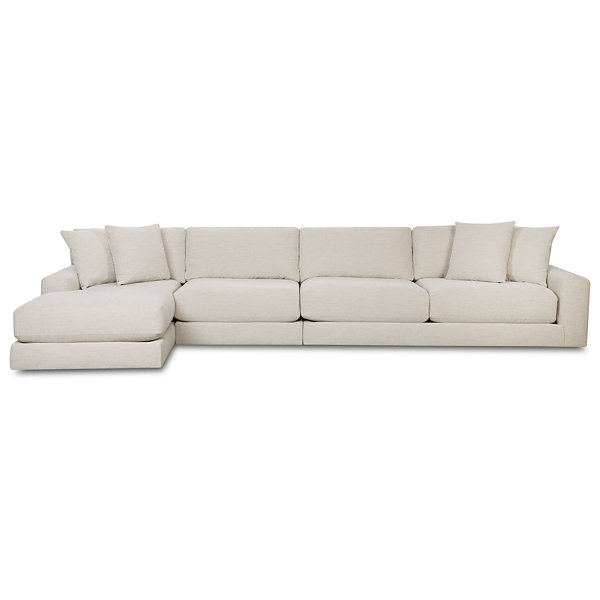 Fabric Possibilities Ponderosa 3-Pc Left Arm Sectional