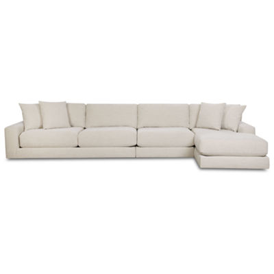 Fabric Possibilities Ponderosa 3-Pc Right Arm Chaise Sectional