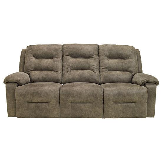 Signature Design by Ashley® Rotation Reclining Power Sofa