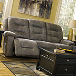 Signature Design by Ashley® Rotation Pad-Arm Reclining Sofa