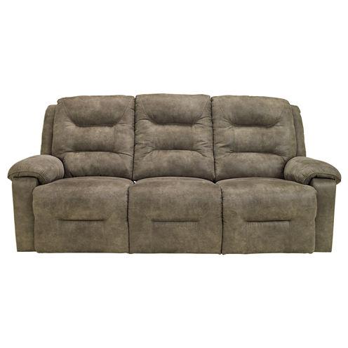 Signature Design by Ashley® Rotation Pad-Arm Reclining Sofa