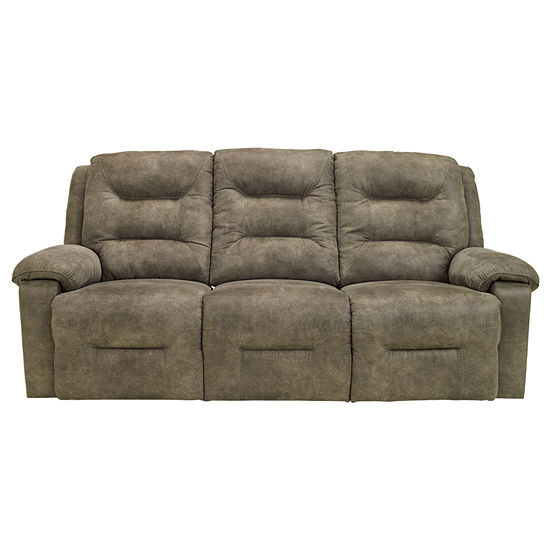 Signature Design By Ashley Rotation Pad Arm Reclining Sofa