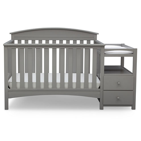 Delta Children Abby Storage Baby Crib - Painted