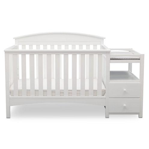 Delta Children Abby Storage Baby Crib - Painted