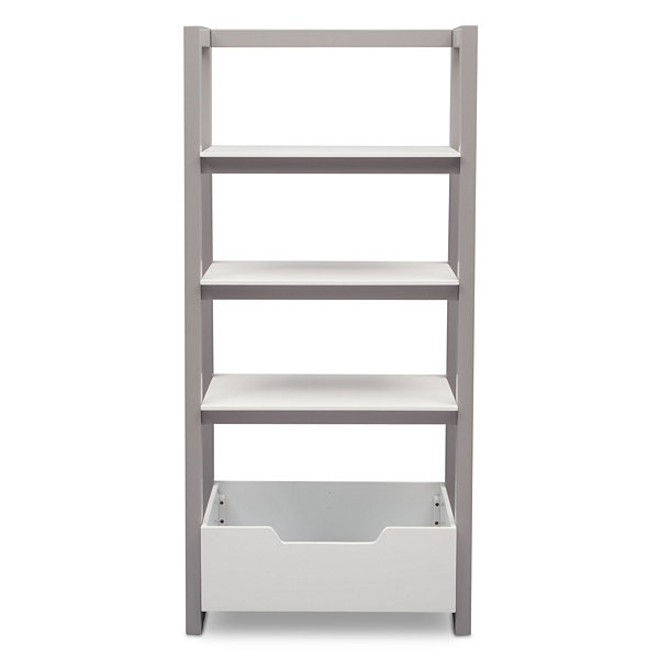 Delta Children 4-Shelf Kids Bookshelf-Painted