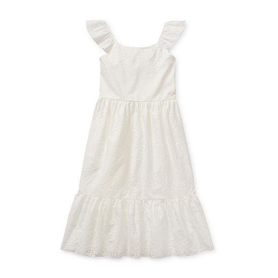 Lilt Little & Big Girls Sleeveless Maxi Dress