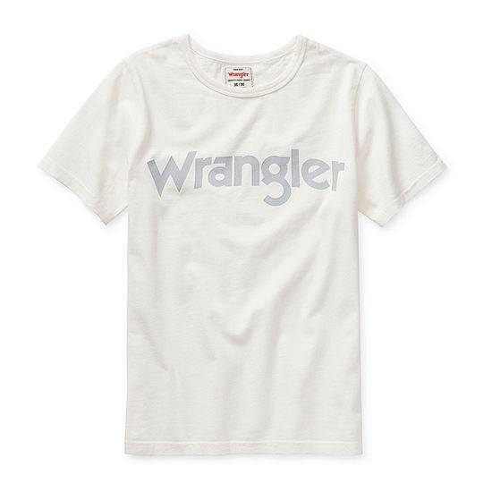 Wrangler Big Boys Round Neck Short Sleeve Graphic T-Shirt