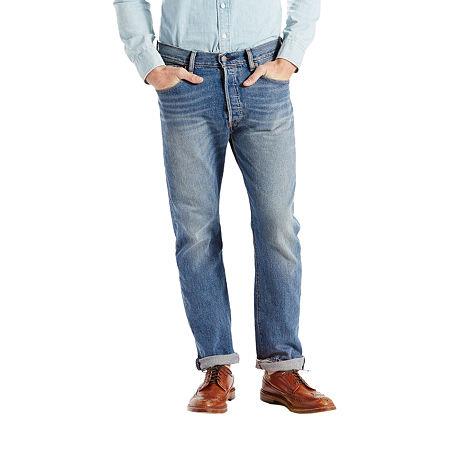 Levi's Mens 501 Stretch Straight Leg Jean, 36 34, Blue