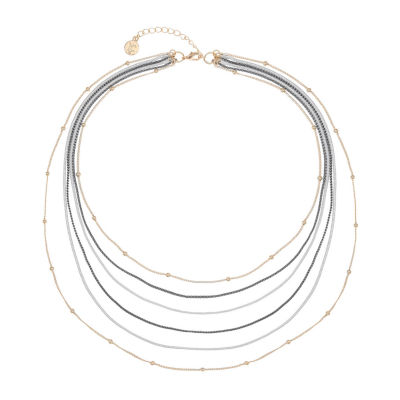 Liz Claiborne 17 Inch Snake Strand Necklace