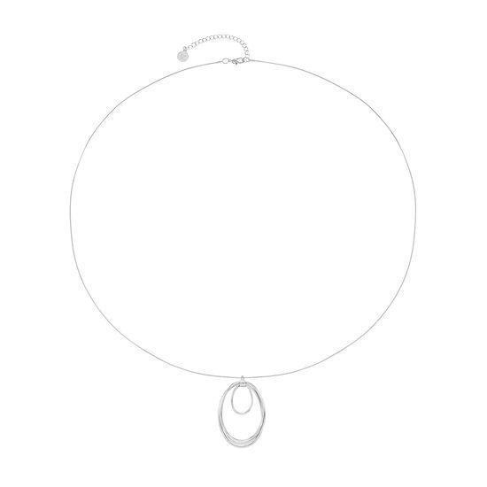 Liz Claiborne 40 Inch Cable Pendant Necklace
