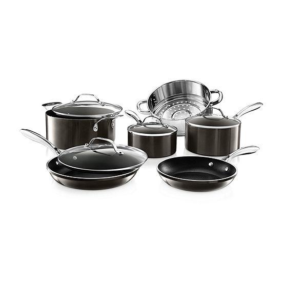 Gotham Steel 10-pc. Aluminum Dishwasher Safe Non-Stick Cookware Set