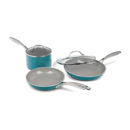Gotham Steel 5-pc. Aluminum Dishwasher Safe Non-Stick Cookware Set